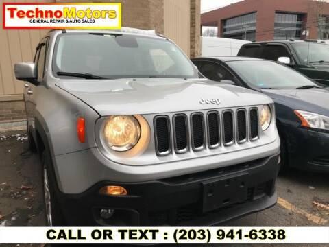 2016 Jeep Renegade for sale at Techno Motors in Danbury CT