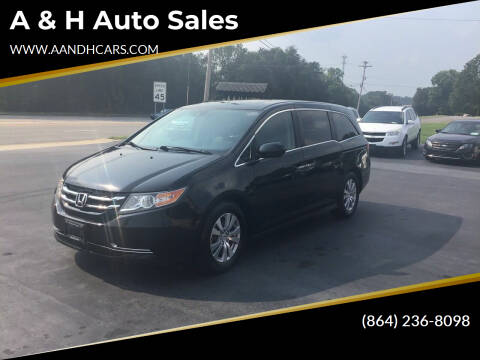 2016 Honda Odyssey for sale at A & H Auto Sales in Greenville SC