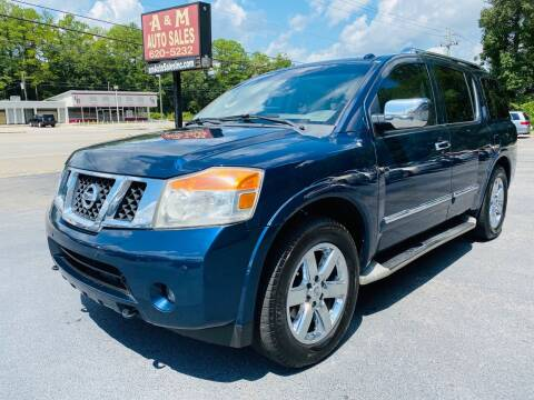 2010 Nissan Armada for sale at A & M Auto Sales, Inc in Alabaster AL