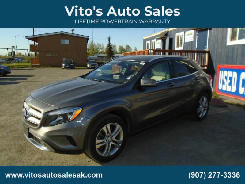 2017 Mercedes-Benz GLA for sale at Vito's Auto Sales in Anchorage AK