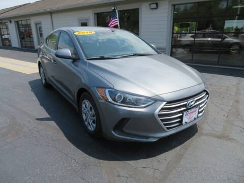 2018 Hyundai Elantra for sale at Tri-County Pre-Owned Superstore in Reynoldsburg OH