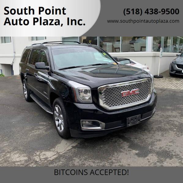 2016 GMC Yukon XL for sale at South Point Auto Plaza, Inc. in Albany NY