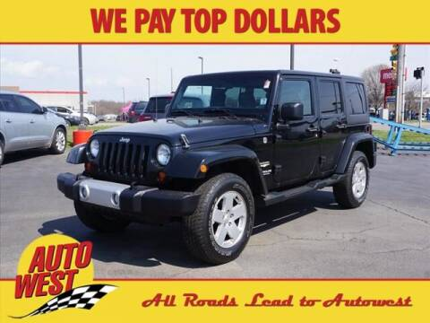 2012 Jeep Wrangler Unlimited for sale at Autowest Allegan in Allegan MI