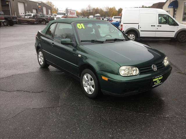 2001 Volkswagen Cabrio for sale at SHAKER VALLEY AUTO SALES in Enfield NH