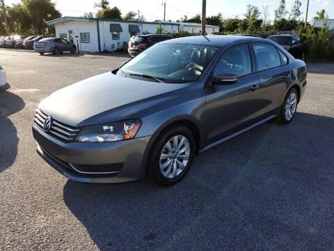 2015 Volkswagen Passat for sale at Jamrock Auto Sales of Panama City in Panama City FL