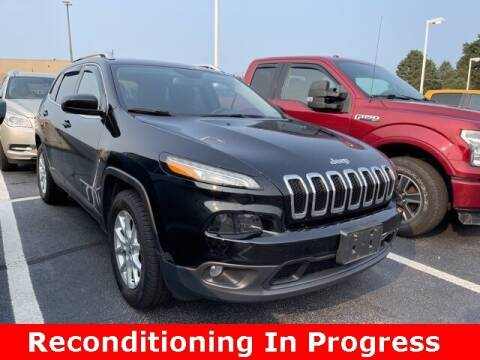 2018 Jeep Cherokee for sale at Jeff Drennen GM Superstore in Zanesville OH