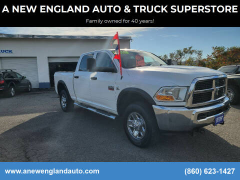 2011 RAM Ram Pickup 2500 for sale at A NEW ENGLAND AUTO & TRUCK SUPERSTORE in East Windsor CT