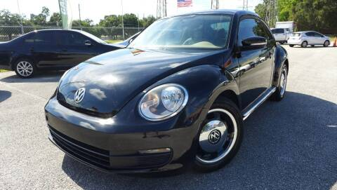 2012 Volkswagen Beetle for sale at Das Autohaus Quality Used Cars in Clearwater FL