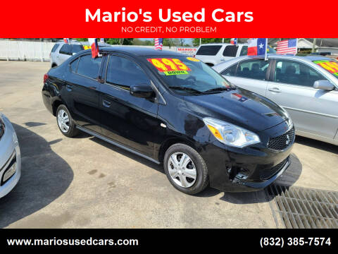 2020 Mitsubishi Mirage G4 for sale at Mario's Used Cars - South Houston Location in South Houston TX