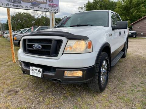 2004 Ford F-150 for sale at Toy Box Auto Sales LLC in La Crosse WI