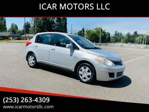 2012 Nissan Versa for sale at ICAR MOTORS LLC in Federal Way WA