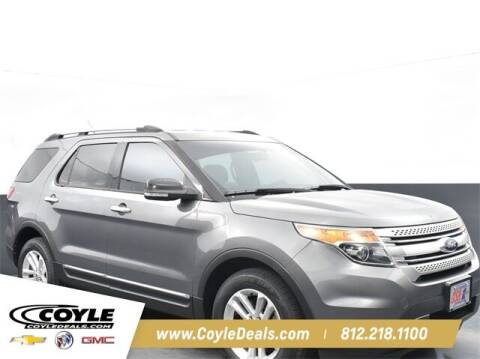 2013 Ford Explorer for sale at COYLE GM - COYLE NISSAN - New Inventory in Clarksville IN
