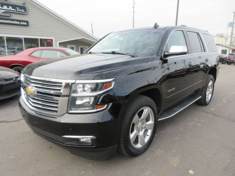 2015 Chevrolet Tahoe for sale at Dam Auto Sales in Sioux City IA