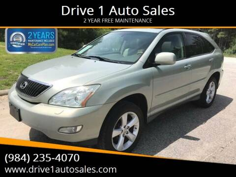 2007 Lexus RX 350 for sale at Drive 1 Auto Sales in Wake Forest NC