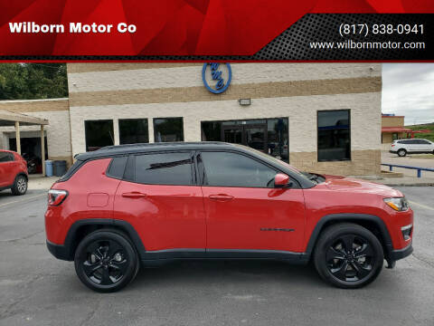 2019 Jeep Compass for sale at Wilborn Motor Co in Fort Worth TX