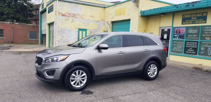 2017 Kia Sorento for sale at Stewart Auto Sales Inc in Central City NE