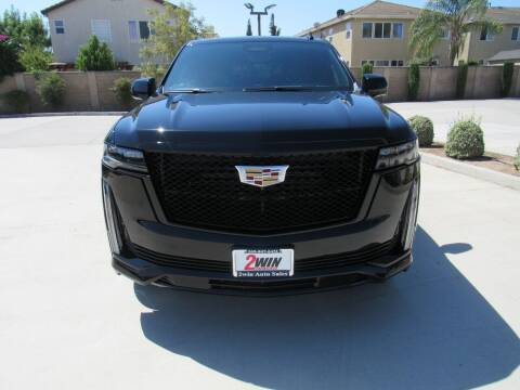2021 Cadillac Escalade for sale at 2Win Auto Sales Inc in Oakdale CA