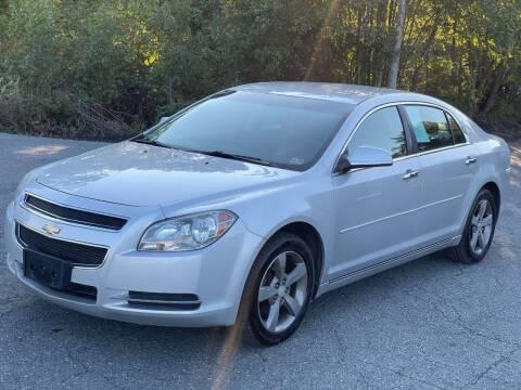 2012 Chevrolet Malibu for sale at ECONO AUTO INC in Spotsylvania VA