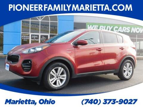 2018 Kia Sportage for sale at Pioneer Family preowned autos in Williamstown WV