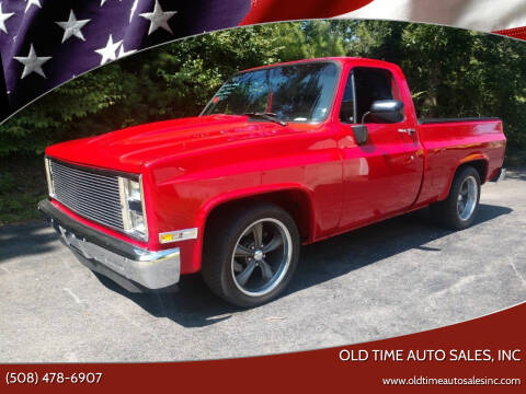 1986 Chevrolet C/K 10 Series for sale at Old Time Auto Sales, Inc in Milford MA