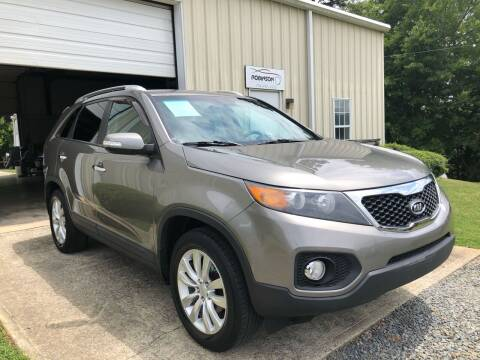 2011 Kia Sorento for sale at Robinson Automotive in Albermarle NC