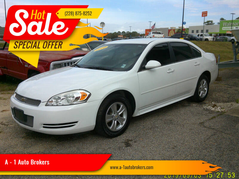 2014 Chevrolet Impala Limited for sale at A - 1 Auto Brokers in Ocean Springs MS