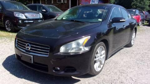 2010 Nissan Maxima for sale at Select Cars Of Thornburg in Fredericksburg VA