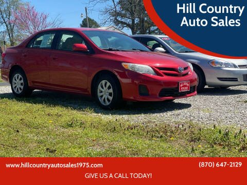 2011 Toyota Corolla for sale at Hill Country Auto Sales in Maynard AR