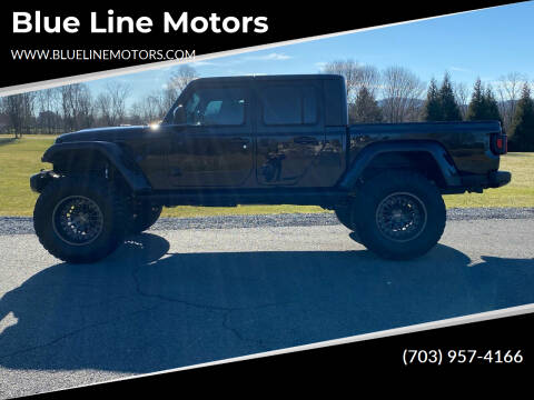 2020 Jeep Gladiator for sale at Blue Line Motors in Winchester VA