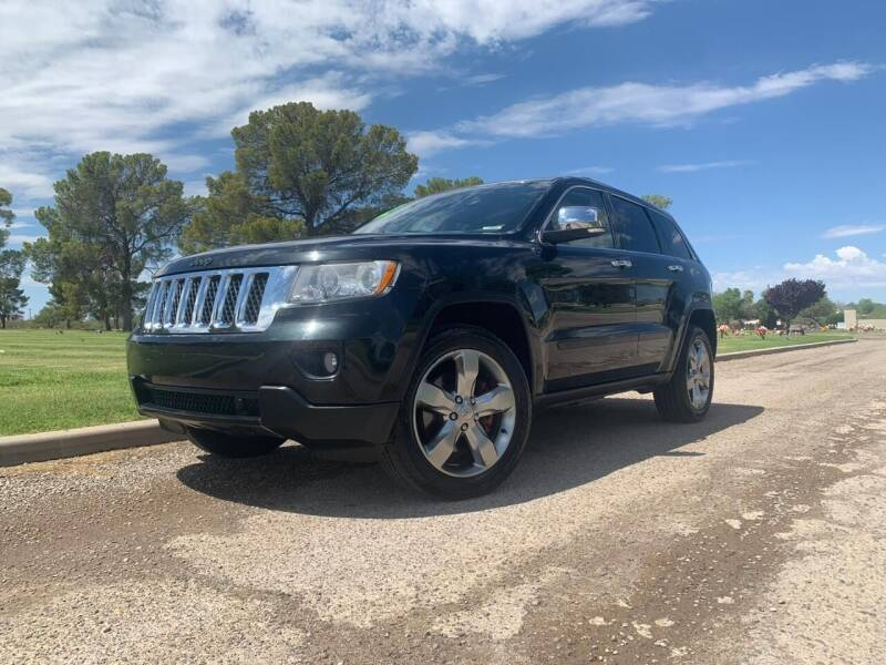 2012 Jeep Grand Cherokee for sale at CAMEL MOTORS in Tucson AZ