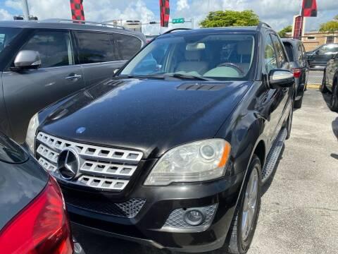 2010 Mercedes-Benz M-Class for sale at America Auto Wholesale Inc in Miami FL