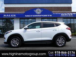 2018 Hyundai Tucson for sale at Highline Group Motorsports in Lowell MA