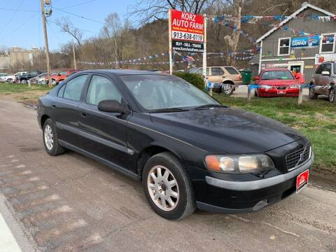 2002 Volvo S60 for sale at Korz Auto Farm in Kansas City KS