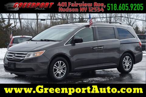 2013 Honda Odyssey for sale at GREENPORT AUTO in Hudson NY
