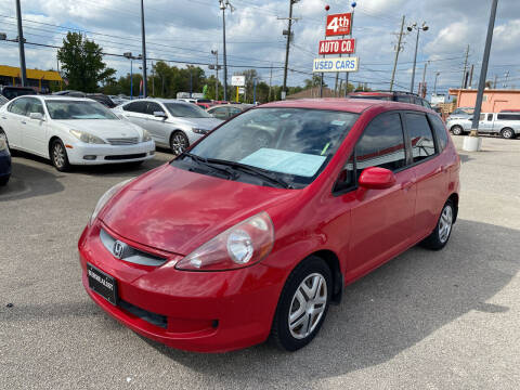 2008 Honda Fit for sale at 4th Street Auto in Louisville KY