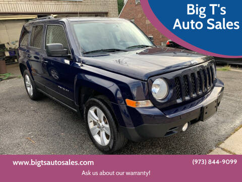 2012 Jeep Patriot for sale at Big T's Auto Sales in Belleville NJ