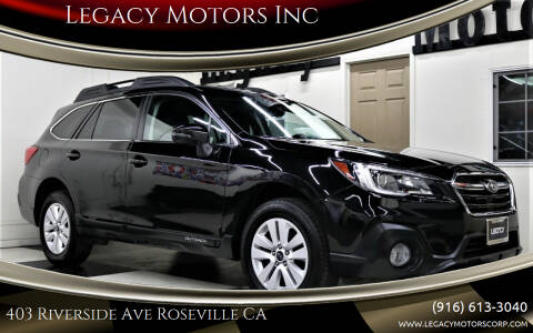 2018 Subaru Outback for sale at Legacy Motors Inc in Roseville CA