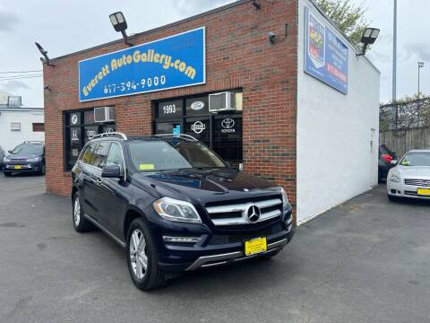 2013 Mercedes-Benz GL-Class for sale at Everett Auto Gallery in Everett MA