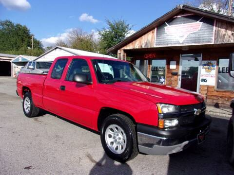 2007 Chevrolet Silverado 1500 Classic for sale at LEE AUTO SALES in McAlester OK