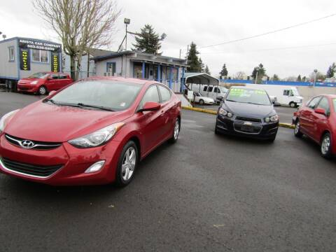 2013 Hyundai Elantra for sale at ARISTA CAR COMPANY LLC in Portland OR
