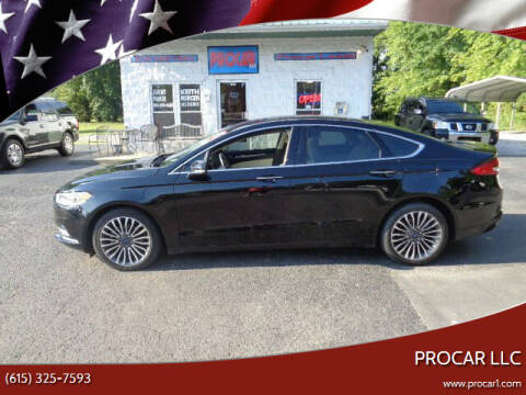 2018 Ford Fusion for sale at PROCAR LLC in Portland TN
