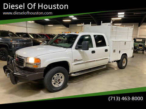 2004 GMC Sierra 2500HD for sale at Diesel Of Houston in Houston TX