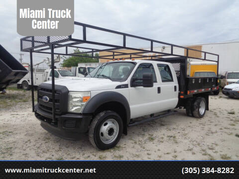 2011 Ford F-450 Super Duty for sale at Miami Truck Center in Hialeah FL