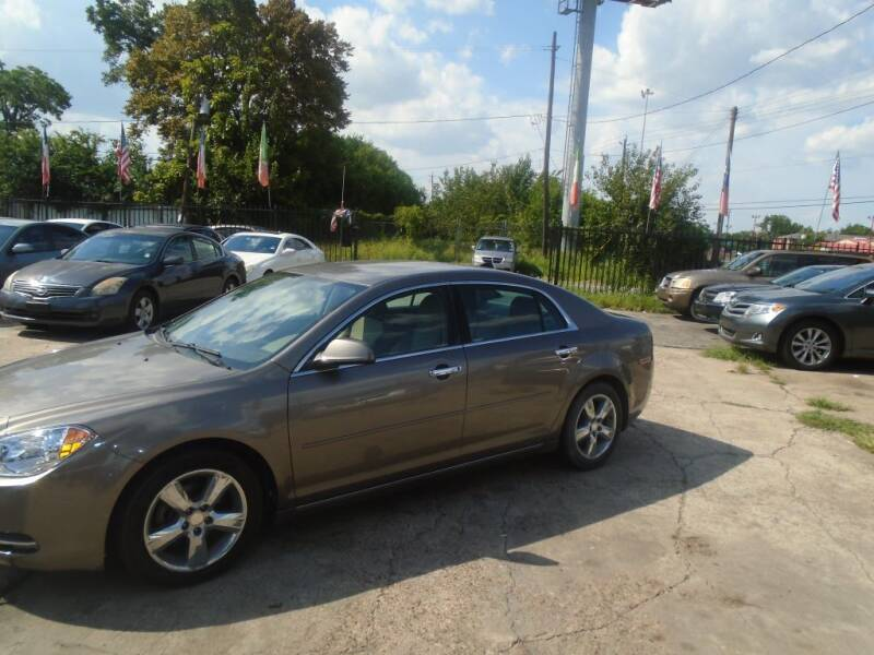 2012 Chevrolet Malibu LT 4dr Sedan w/2LT - Houston TX