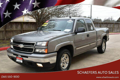 2006 Chevrolet Silverado 1500 for sale at Schaefers Auto Sales in Victoria TX