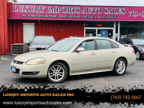 2009 Chevrolet Impala for sale at LUXURY IMPORTS AUTO SALES INC in North Branch MN