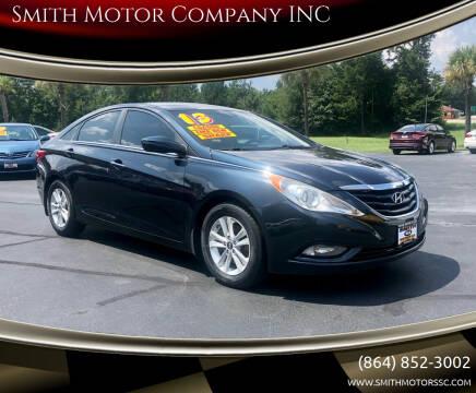 2013 Hyundai Sonata for sale at Smith Motor Company INC in Mc Cormick SC