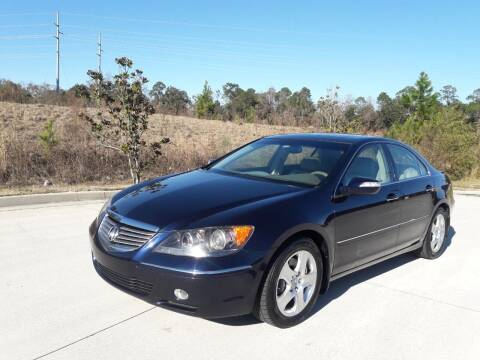2007 Acura RL for sale at Car Shop of Mobile in Mobile AL