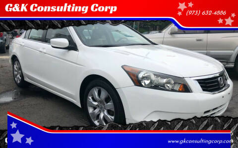 2009 Honda Accord for sale at G&K Consulting Corp in Fair Lawn NJ