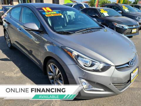 2014 Hyundai Elantra for sale at Super Cars Sales Inc #1 - Super Auto Sales Inc #2 in Modesto CA